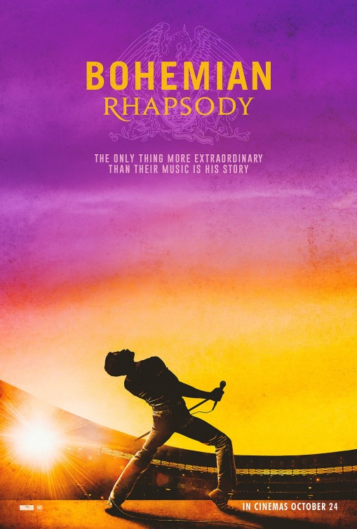 Bohemian Rhapsody [M] Poster for Kookaburra Cinema