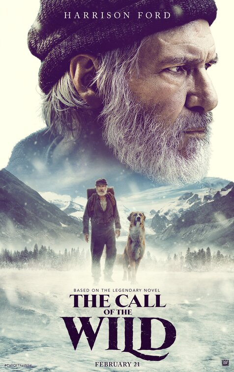 The Call of the Wild [PG] Poster for Kookaburra Cinema