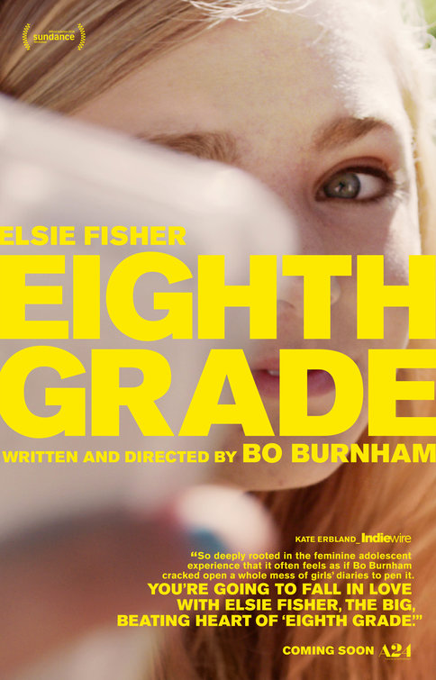 Eighth Grade [M] Poster for Kookaburra Cinema