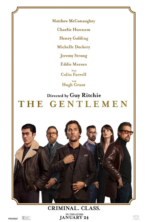 The Gentlemen [MA15+] Poster for Kookaburra Cinema