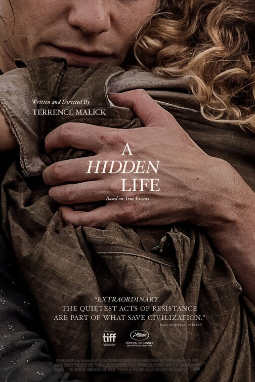 A Hidden Life [M] Poster for Kookaburra Cinema