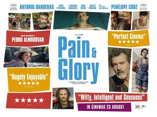 Pain and Glory [MA15+] Poster for Kookaburra Cinema