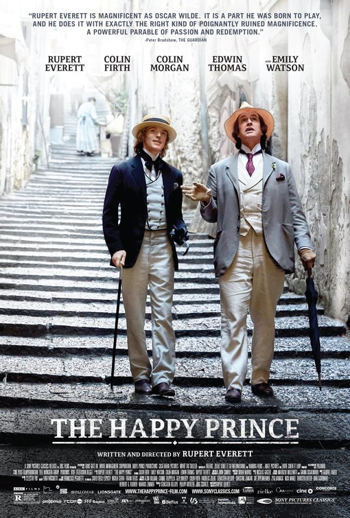 The Happy Prince [MA15+] Poster for Kookaburra Cinema